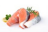 Fototapete Fisch - Steak - Fische