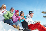 Fototapety snow games