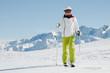 Ski touring in European Alps