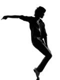 hip hop funk dancer dancing man