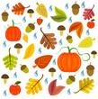 Autumnal texture