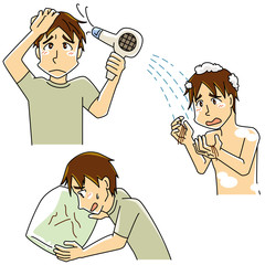 髪の悩み・男性