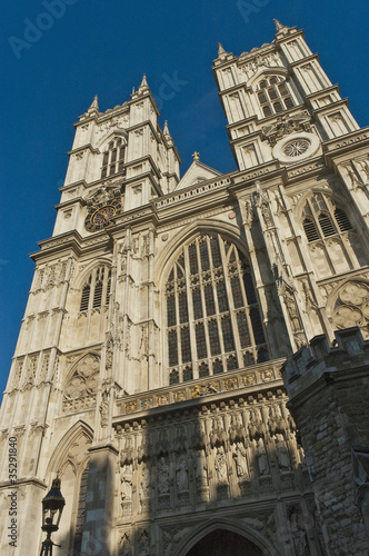 Westminster Abbey at London