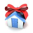 Gift white home