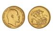 5 Pfund Edward VII Großbritannien