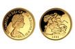 1 Sovereign Elisabeth II Großbritannien 1982