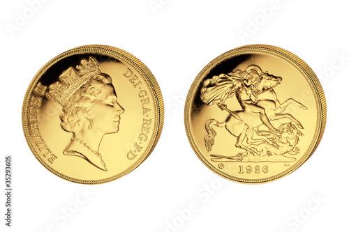 5 Pfund Elisabeth II Großbritannien