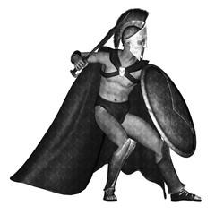 spartan sketch