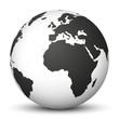 Weltkugel, Erdkugel, Globus, Erdball, Erde, Welt, Map, Weltweit