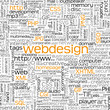 Webdesign Keyword, Tag Cloud, Hintergrund, Internet, Tags