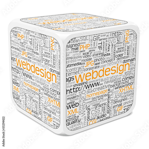 Würfel, Keyword, Webdesign, Tag Cloud, Internet Begriffe