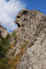Sguardo di roccia