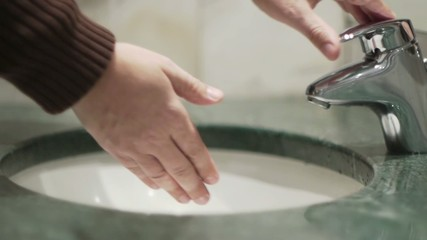 Male - Washing Hands