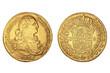 8 Escudos Ferdinand Spanien