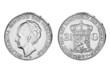 2,5 Gulden Wilhemina Niederlande
