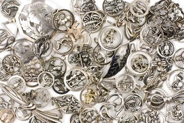 Silberanhänger Samlung