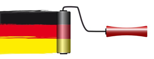 deutsch streichen