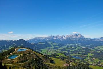 Panorama Hahnenkamm Kitzbühel