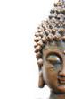 halber Buddha-Kopf
