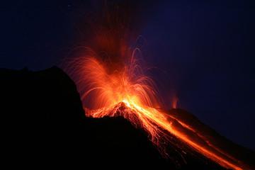 stromboli eruption 9159