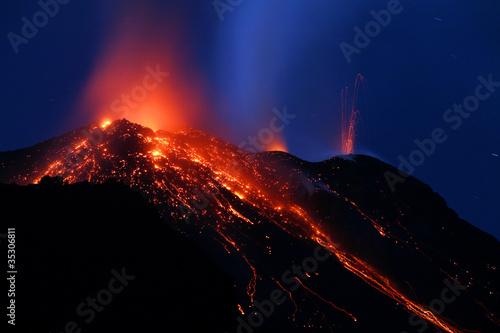 erupcja stromboli 9169
