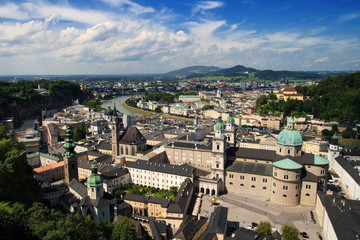 Salzburg, view from the castle