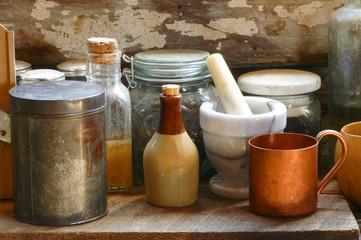 Antique Cooking Utensils