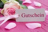 Fototapety Gutschein