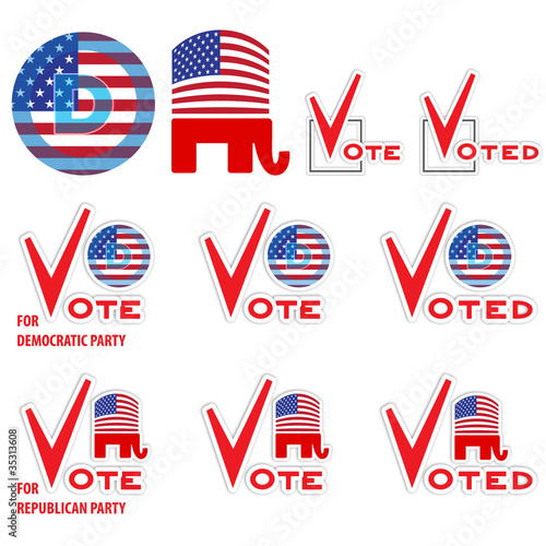 US voting set