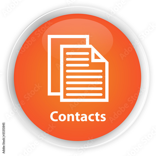 Contacts Orange button