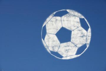Fussballwolke