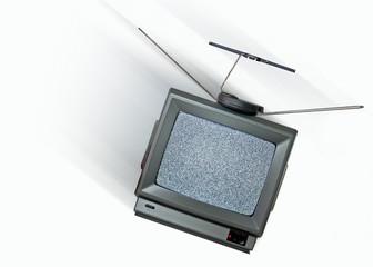 veraltetes Fernsehgerät