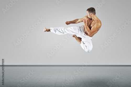 Fototapeten,sprung,männlich,mann,martial