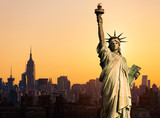 Fototapety New York statue de la Liberté