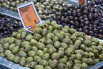 Greek pimento stuffed green olives