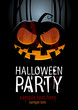 Halloween Party Design template, with pumpkin and place for text - 35318253