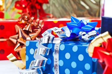colorful gifts background