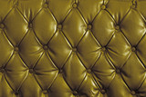 gold genuine leather poster