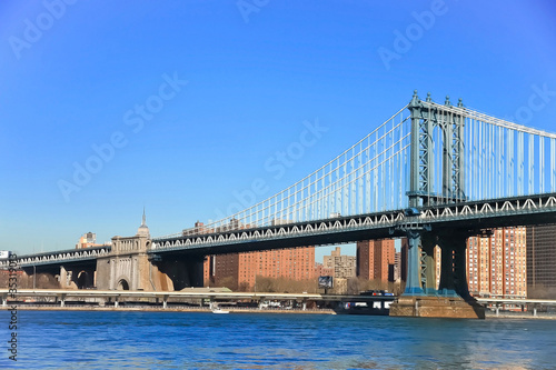 Manhattan bridge, New York, USA