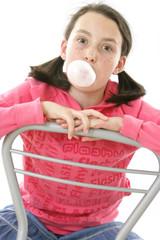 Bulle de chewing - gum