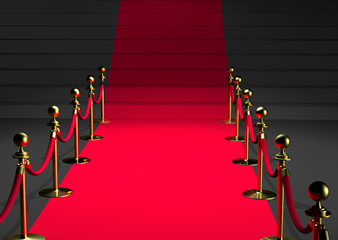 Tapis rouge 3D - Perspective