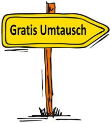 Gratis Umtausch...