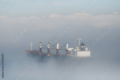 Tankers in the Mist - 35329007