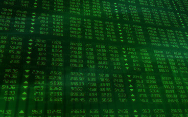 Stock Market Green