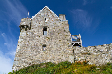 17th century Dunasead Castle, Baltimore, Co. Cork in Ireland