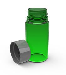 Die Glasflasche