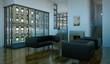 Wohndesign - Wohnzimmer im Loft