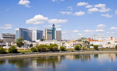 Панорама района Даниловской набережной