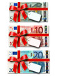 20 + 10 + 5 Euro