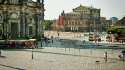 Theaterplatz Dresden (Germany)
